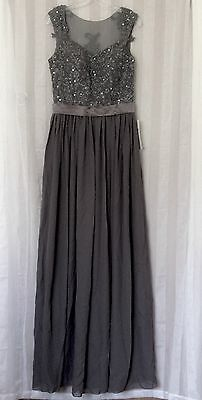 Brand-new Lace-Chiffon Bridesmaid Formal Wedding Evening Ball Gown Party Prom