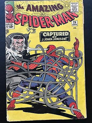 The Amazing Spider-Man #25 - SD 1st Cameo Mary Jane Watson ASM Spidey