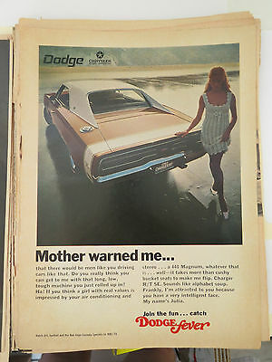 1969 Dodge Fever Charger Sexist Ad