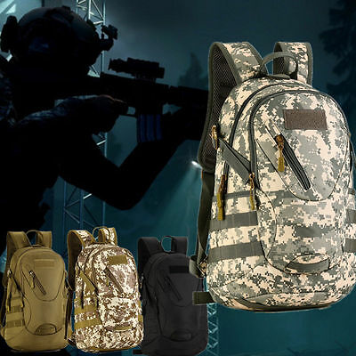20L Waterproof Outdoor Hiking Traveling Cycling Military Tactical Backpack UK
