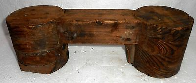 India Vintage Wood/Wooden Parts mold/mould for foundry 80+ Years Old Military?