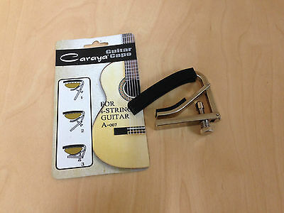 Caraya Quick Change Guitar Capo for Electric Guitars A-007