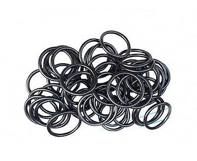 O-ring Wire Diameter 0.5mm/0.7mm NBR Rubber Oil Resistant Sealing Ring 2-6mm OD