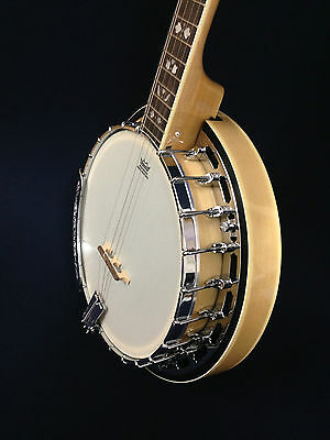 Caraya BJ-005M 'Blue Mountain' Series premium 5-string Banjo-All Maple +Free Bag