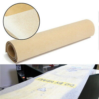 "50 x 10"" PVC Longboard Skateboard Griptape Thickened Grip Tape Sheet Clear >"