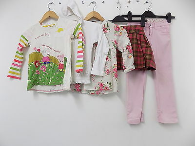 Next / H&M / Primark girls 5pc set peppa pig top skirt jeans size 4-5 years