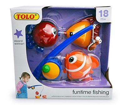 NEW Tolo Toys Funtime Fishing Bath Fun Set - Baby Bath Toys