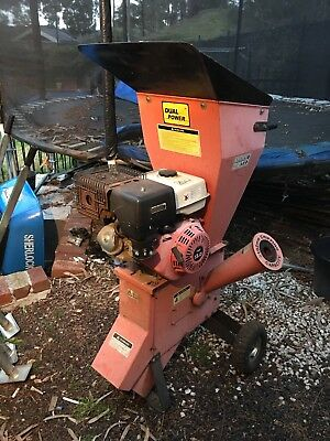 13 HP Commercial Series Wood Chipper Garden Mulcher Shredder Chipper