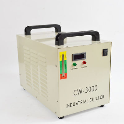 Thermolysis Industrial Water Chiller for CNC 60/80W CO2 Glass Tube 220 CW-3000A
