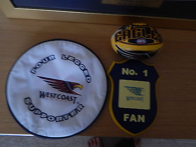 west coast eagles  memorabilia.