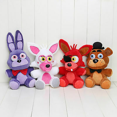 New Five Nights at Freddy's 4 FNAF Horror Game Plush Dolls Kids Plushie Toys