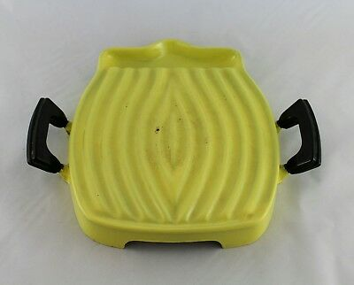 Design Raymond Loewy Le Creuset Grill tostador flame cast Iron vintage 1960s