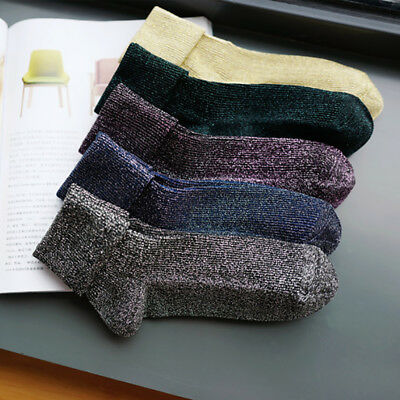 Fashion Women Winter Sock Silver Onion Flanging Heap Stockings Tube Socks Gift