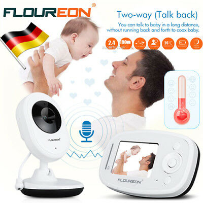 Funk Wireless Baby Video Audio Monitor Babyfone Babyviewer Nachtsicht + Kamera D