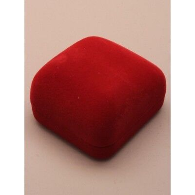 One Velvet Red Jewellery Gift Box Ring Earrings Presents Valentines Gifts Xmas