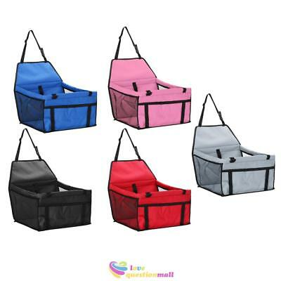 Folding Pet Carrier Dog Cat Puppy Car Seat Cover Bag Safety Travel Handbag Crate