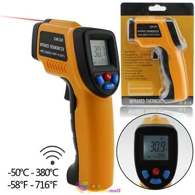 GM320 Non-Contact LCD IR Infrared Digital Temperature Temp Test Thermometer Gun