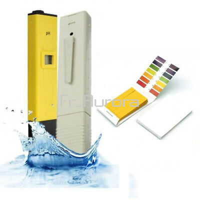 Digital TDS Tester+ Ph Meter  Aquarium Pool Hydroponic Water Monitor 0-9999 PPM