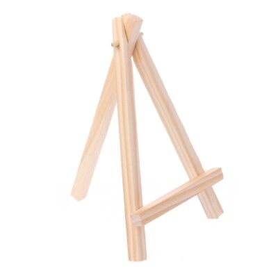 Wooden Tripod Easel Mini Display Painting Stand Card Canvas Holder Wedding Party