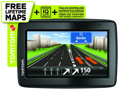 "TomTom Via 135 M Navi CE Europa GPS 5"" Navigationssystem Bluetooth Lifetime Maps"