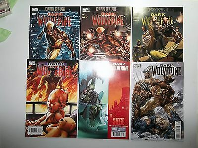 Dark Wolverine Marvel Lot of Six Issues No. 77, 78, 79, 80, 84, and 86 VF/ NM