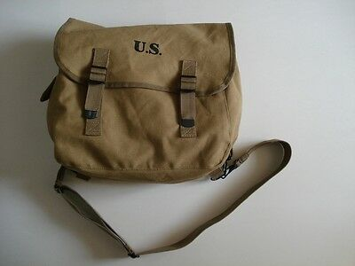 New WWII US Army M1943 N36 Musette Field Bag Backpack Haversack