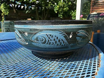 George Cook - Desirable Ceramic Bowl.(Signed on base)  - Ambleside Pottery
