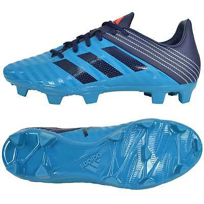 Adidas Malice Firm Ground Rugby Boots - Blue