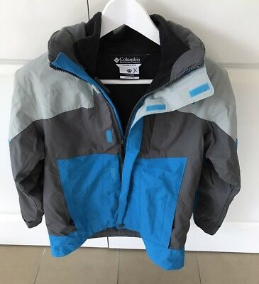 COLUMBIA Youth 2 In 1 SNOW JACKET Size 10-12 LIKE NEW!!!