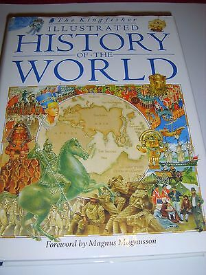 The Kingfisher Illustrated History of the World by Pan Macmillan (Hardback,...