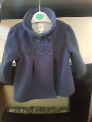 jasper conran 12-18 months girls coat