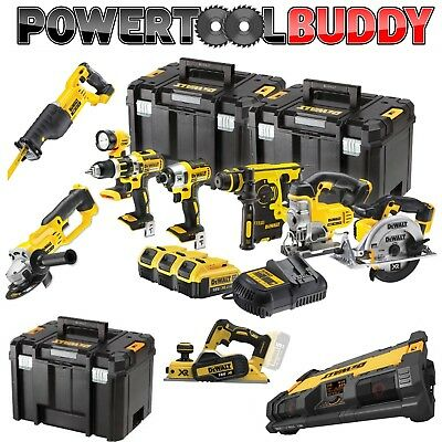 Dewalt 18volt Li-ion Cordless 4.0AH 10pc Combo Kit PHO10KIT Brushless