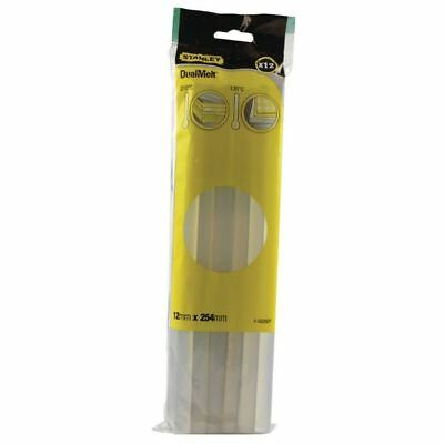 Stanley Dual Melt Glue Stick 10 Inch (Pack of 12) 0-GS25DT [SB05212]