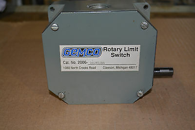 GEMCO Rotary Limit Switch #2006-402R120A