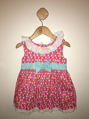 Oobi Marilyn Pink Rain Dress size 2yr