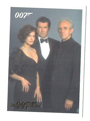 James Bond Archives 2014 Complete 93 Card Tomorrow Never Dies Gold Parallel Set