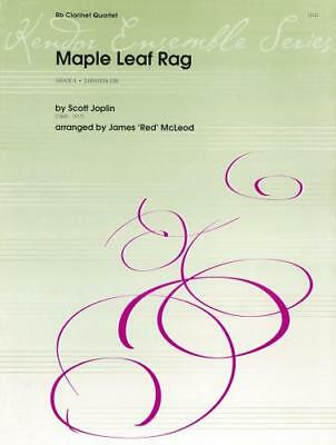 SCOTT JOPLIN: MAPLE Leaf Rag (Clarinet Quartet) KEN15127 - £9.50 ...
