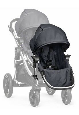 City Select Second Seat Kit With Silver Frame By Baby Jogger In Titanium