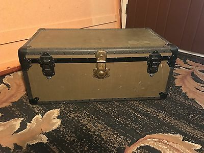 Vintage Trunk Military Green