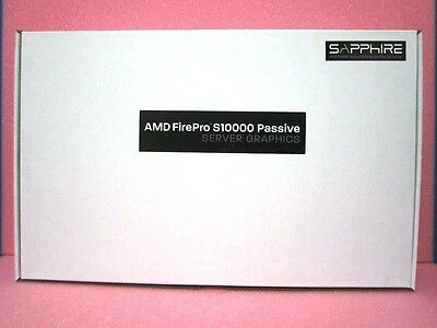 Lot of 10 New AMD FIREPRO S10000 12GB PASSIVE SERVER Graphic Card  100-505866
