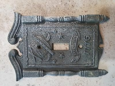 American Tack Hdwe Co Light Switch Cover Plate 1776 Fyfe Drum
