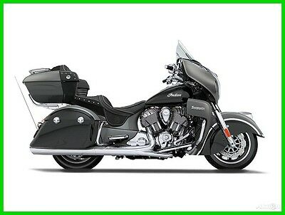 Indian Roadmaster®  2016 Indian Motorcycle Roadmaster Steel Gray And Thunder Black New
