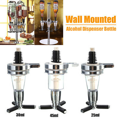 Bar Wall Mounted Ice Red Wine Alcohol Liquor Cocktail Beer Shot Dispenser Bottle