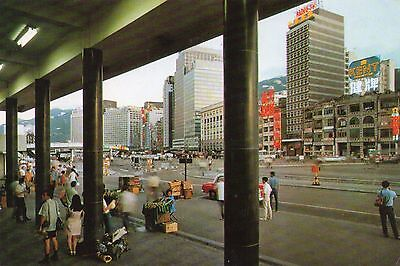 FERRY SQUARE  CONNAUGHT ROAD  HONG KONG  continental size chrome  used 1971