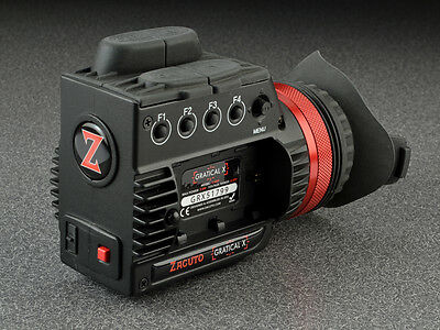 Zacuto Gratical X Micro-OLED Electronic Viewfinder use w/ Canon C300/500