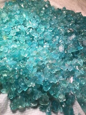 1lb Neon Blue Green Apatite Gem Crystals Wholesale Bulk Rough Natural