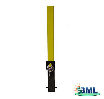 Removable Security Post. Brand- Maypole Code 9731Fd