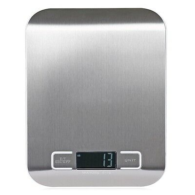5KG Digital Electronic Glass Kitchen Cooking Food Parcel Postal Weighing Scales
