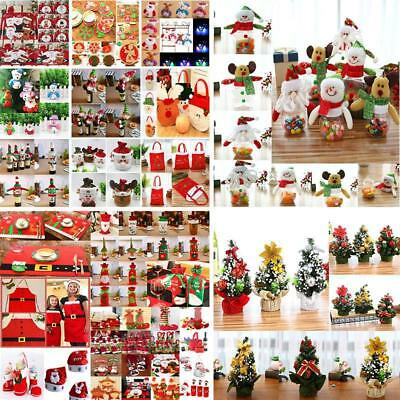 Santa Pants Christmas Candy Bags Wine Stocking Bottle Gift Bag Xmas Decoration