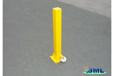 Fold Down Security Parking Post And Bolts. Brand- Maypole Code 9737Fd